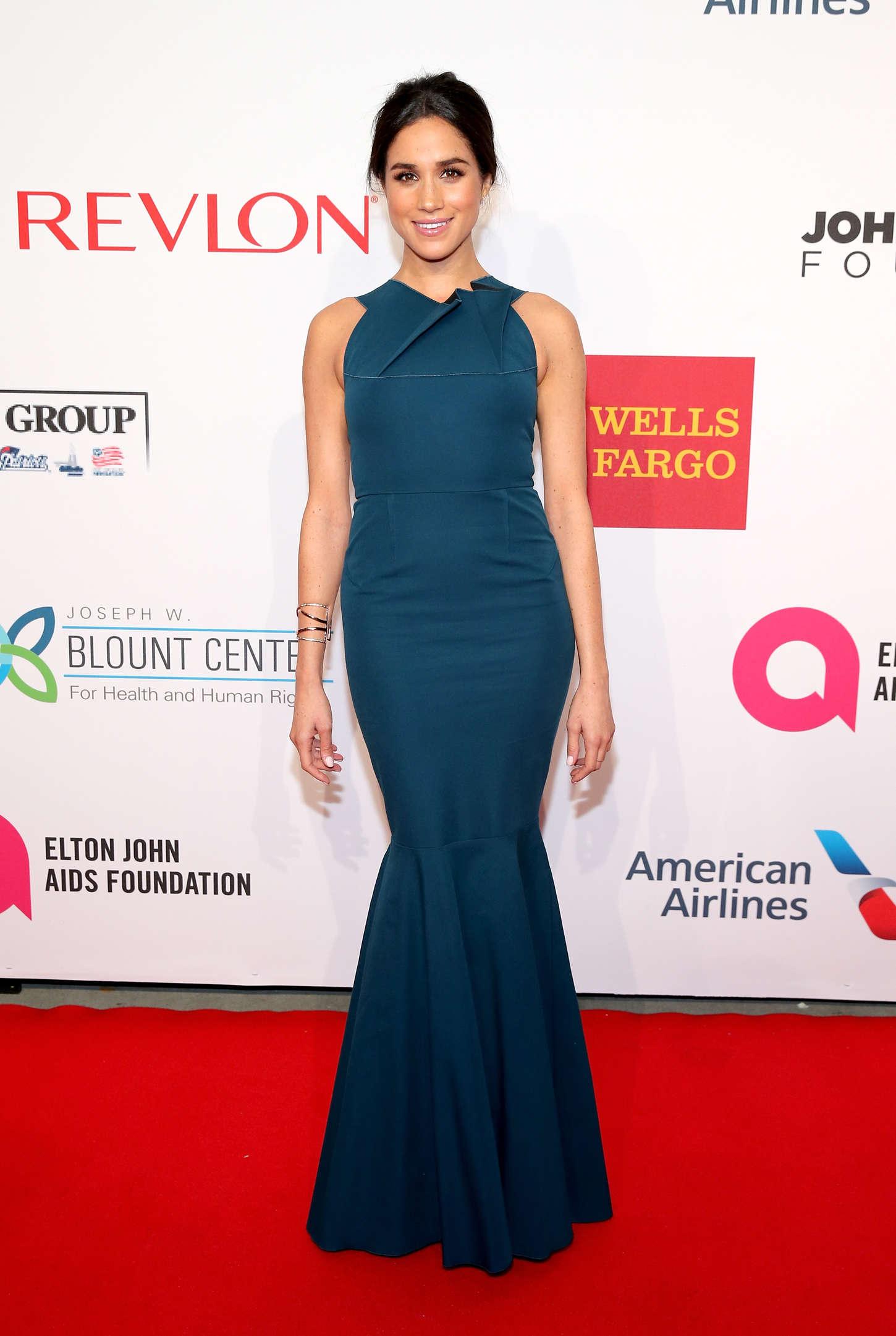 Meghan Markle 2014 : Meghan Markle: Elton John AIDS Foundation 2014 An Enduring Vision Benefit -12