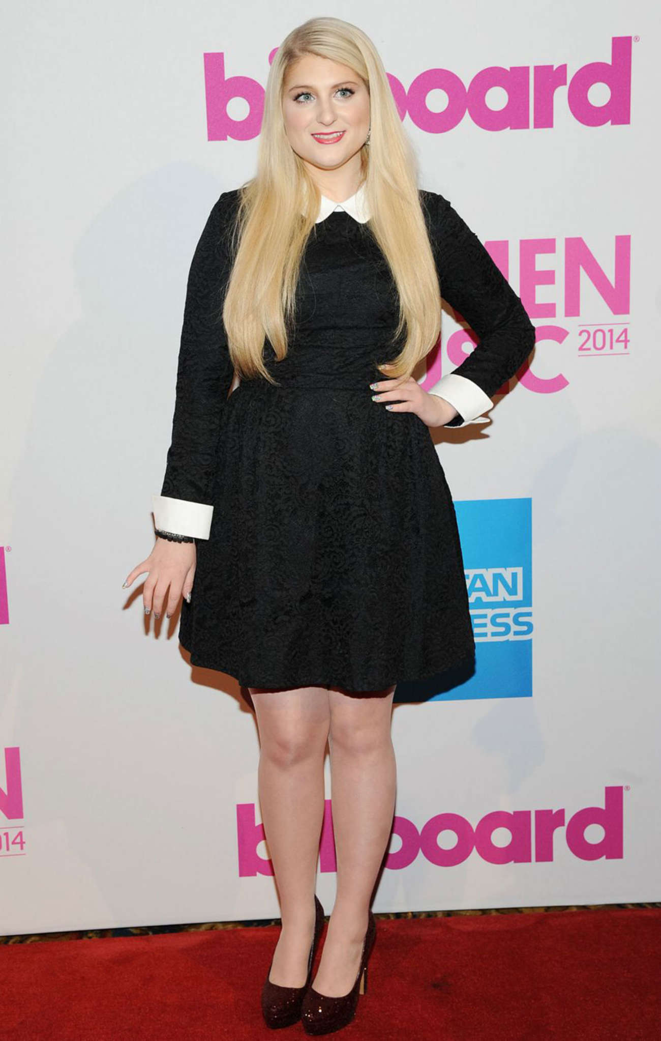 meghan trainor billboard women in music luncheon 2014 08