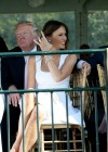 Melania Trump in Palm Beach Florida at Trump Invitational Grand Prix