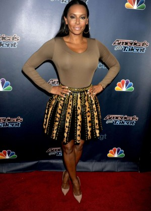"Melanie Brown - ""America's Got Talent"" Post-Show Red Carpet in NYC"