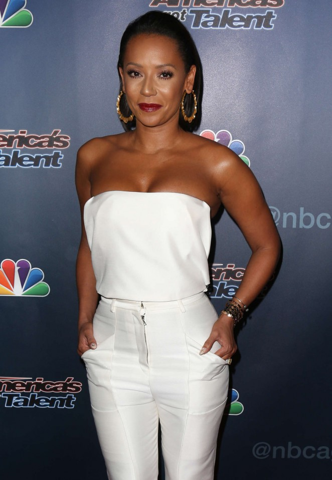 "Melanie Brown - ""America's Got Talent"" Season 9 Finale Red Carpet Event in New York City"