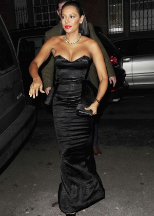 Melanie Brown at Katie Piper Foundation Ball in London