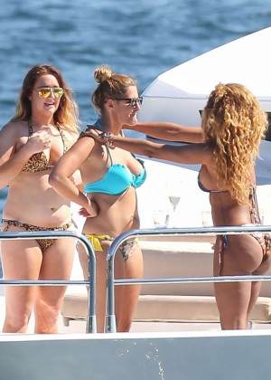 Melanie Brown Bikini Photos: 2014 in Sydney -10