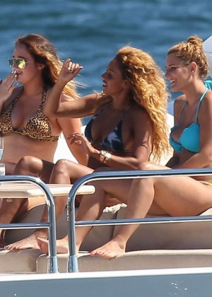 Melanie Brown Bikini Photos: 2014 in Sydney -14