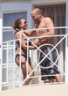 Melanie Brown - Bikini on Balcony in LA-18