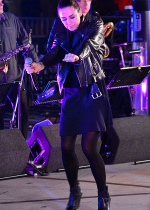 Melanie Chisholm - Performs at The One Show in London