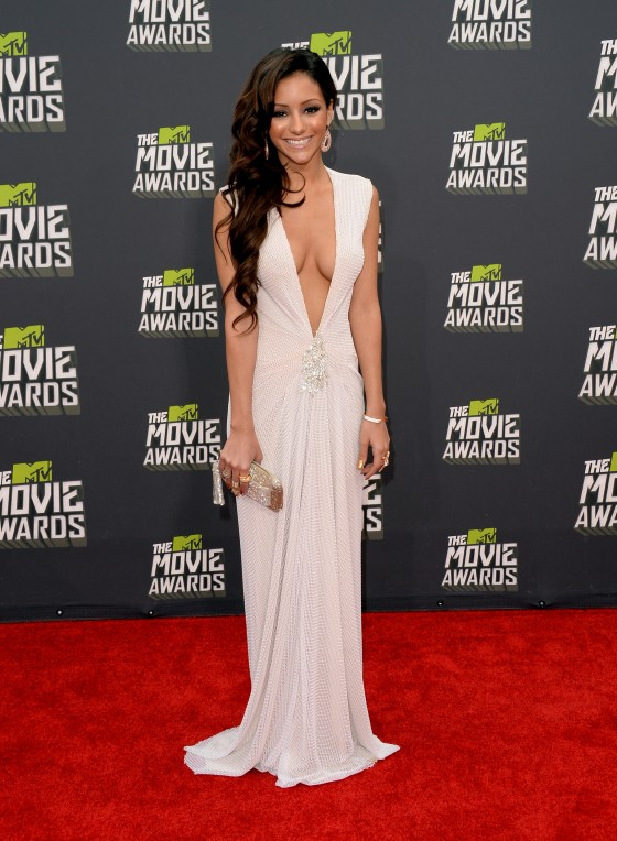Melanie Iglesias - 2013 MTV Movie Awards -02