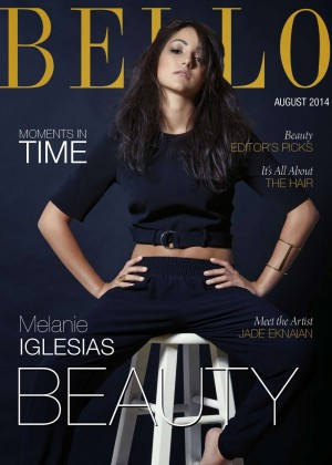 Melanie Iglesias - BELLO Magazine Cover (August 2014)