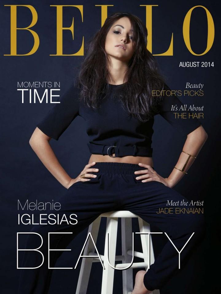 Melanie Iglesias - BELLO Magazine Cover (August 2014)