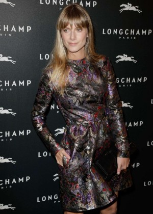 Melanie Laurent - Longchamp Elysees Light On Party Photocall in Paris