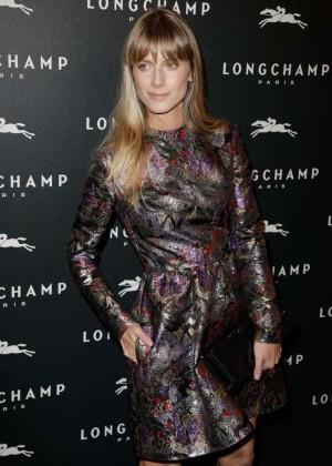 Melanie Laurent - Longchamp Elysees Light On Party Photocall in Paris