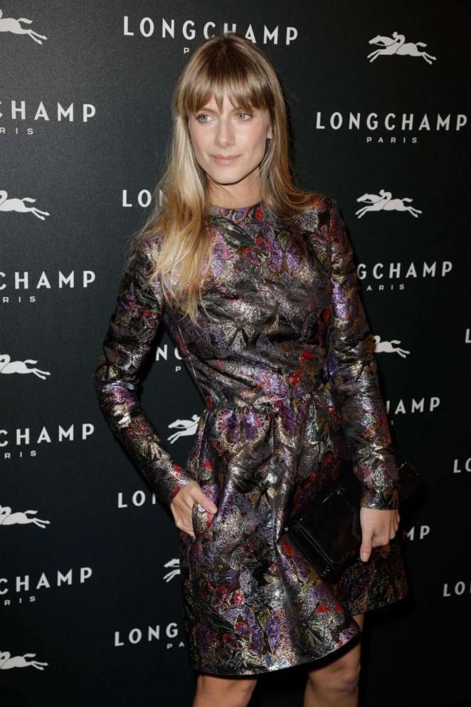 Melanie Laurent – Longchamp Elysees Light On Party Photocall in Paris