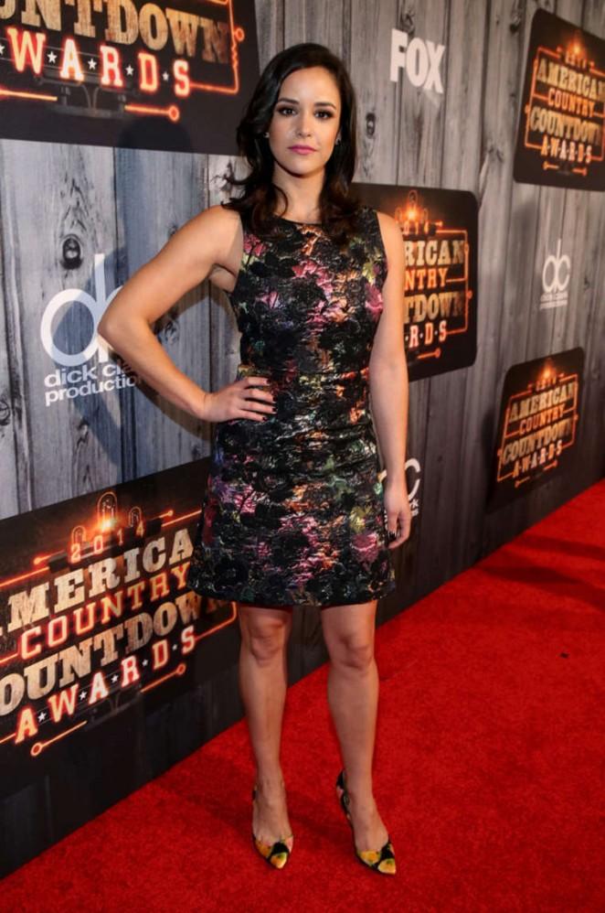 Melissa Fumero - 2014 American Country Countdown Awards in Nashville