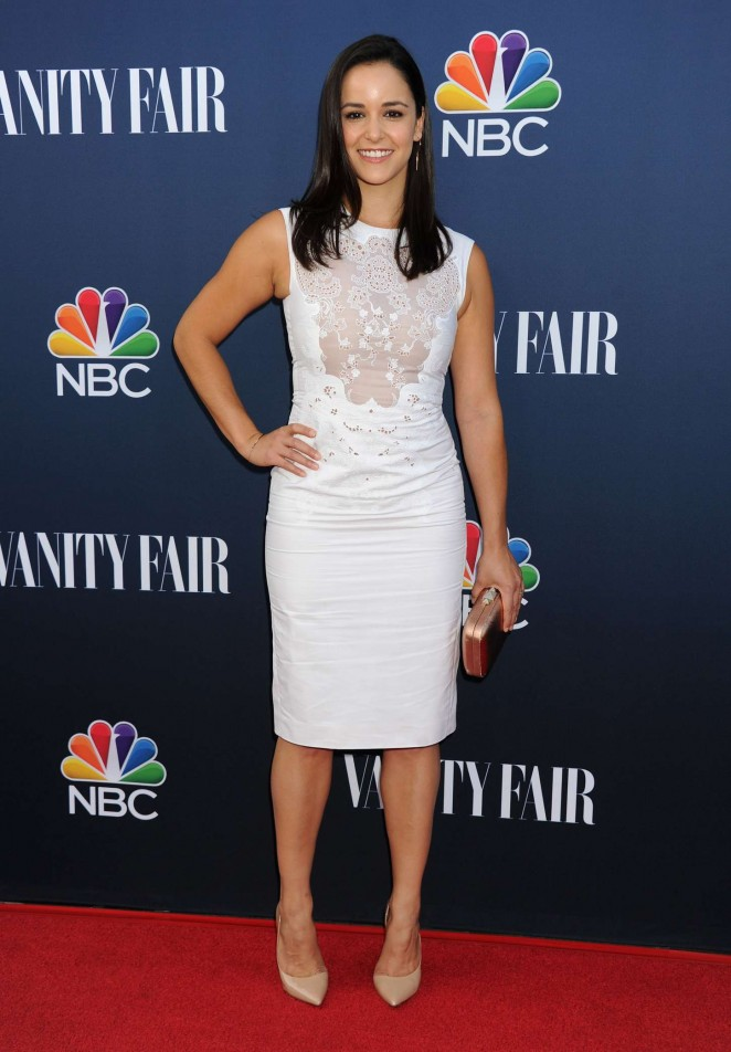 Melissa Fumero - NBC Universal Vanity Fair Party in LA