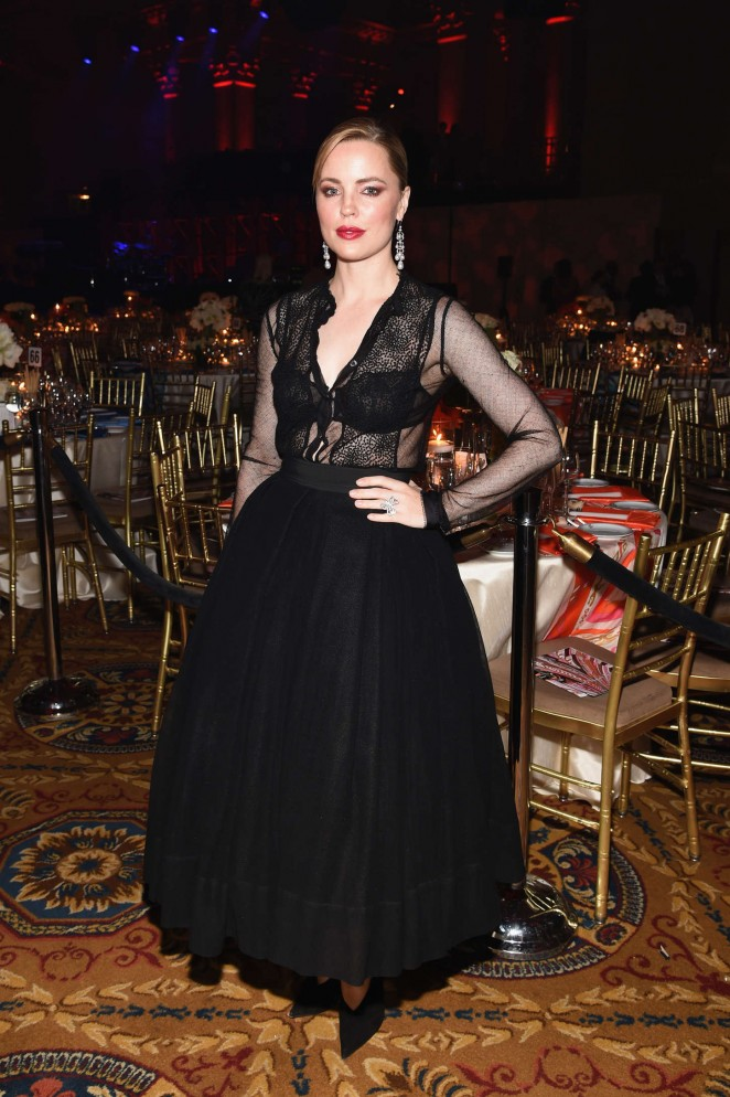 Melissa George - Gabrielle's Angel Foundation Angel Ball 2014 in NYC