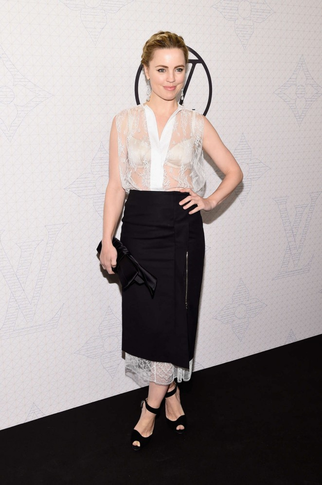 KMelissa George - Louis Vuitton Monogram Celebration in NYC