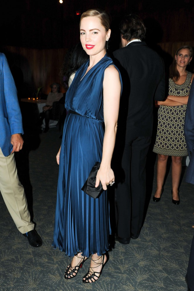 Melissa George - Project Perpetual's Inaugural Auction in NYC