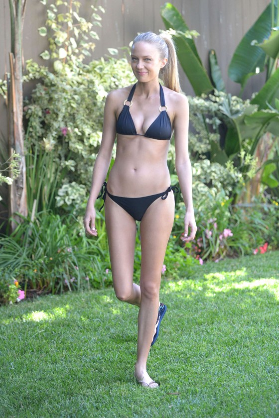 Melissa Ordway - at a pool party in San Diego -02
