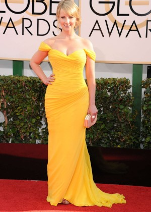 Melissa Rauch: Golden Globe 2014 Awards -01