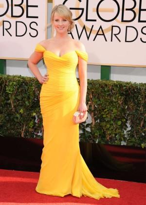 Melissa Rauch: Golden Globe 2014 Awards -02