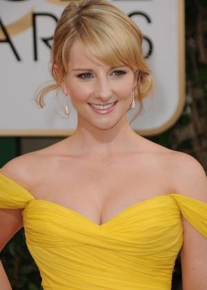 Melissa Rauch: Golden Globe 2014 Awards -04