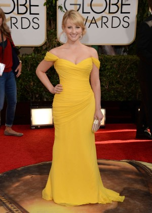 Melissa Rauch: Golden Globe 2014 Awards -05