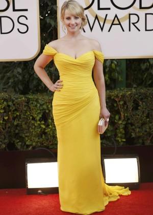 Melissa Rauch: Golden Globe 2014 Awards -06