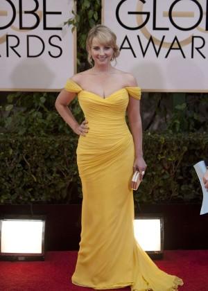 Melissa Rauch: Golden Globe 2014 Awards -08