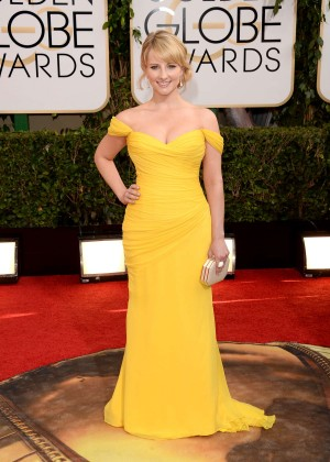 Melissa Rauch: Golden Globe 2014 Awards -09