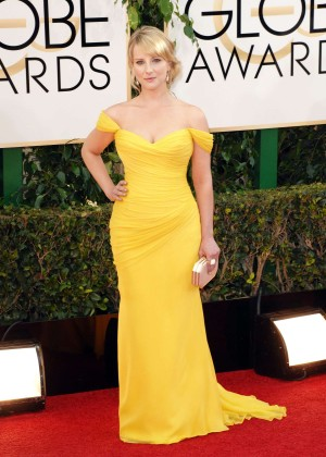 Melissa Rauch: Golden Globe 2014 Awards -11