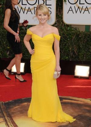 Melissa Rauch: Golden Globe 2014 Awards -12