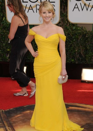 Melissa Rauch: Golden Globe 2014 Awards -16