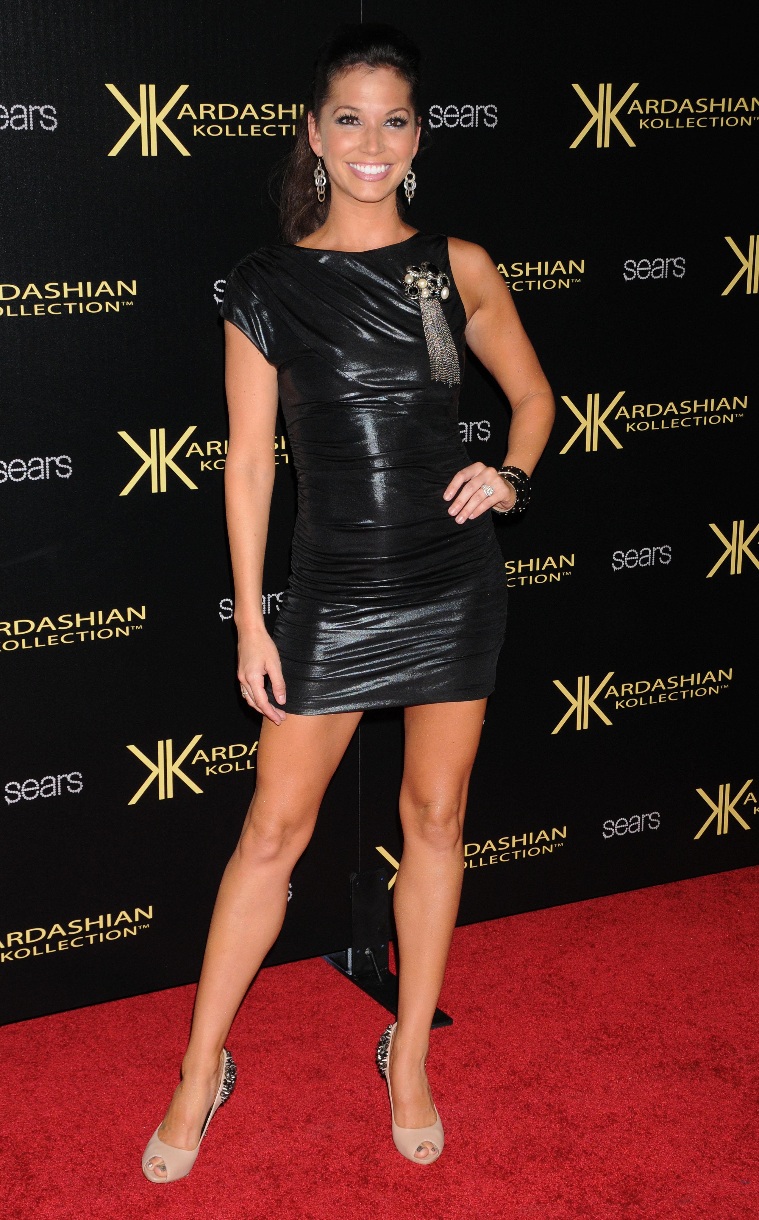 Melissa Rycroft In Tight Black Dress 05 Gotceleb