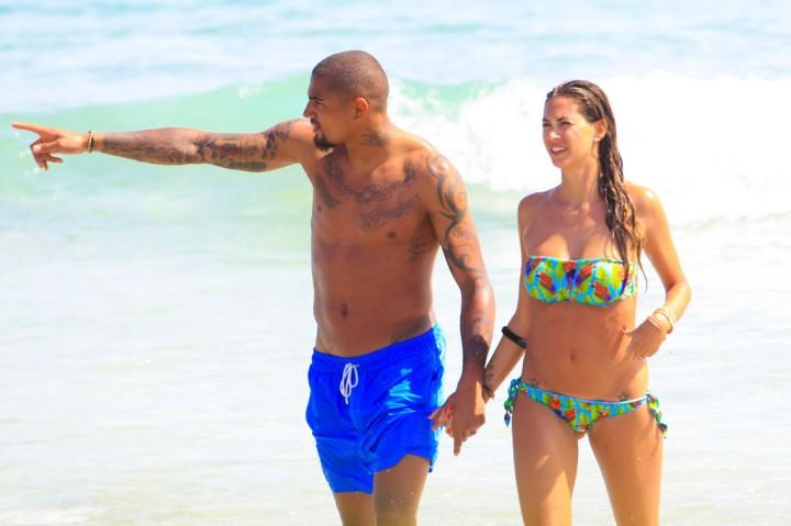 Melissa Satta – Bikini Candids in Ibiza -36