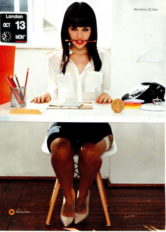 Mellisa Clarke: FHM Magazine -01