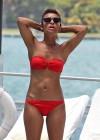 Melody Thornton in red bikini -19