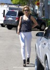 Mena Suvari - In White Jeans-01