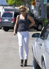 Mena Suvari - In White Jeans-04