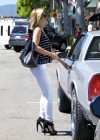 Mena Suvari - In White Jeans-05