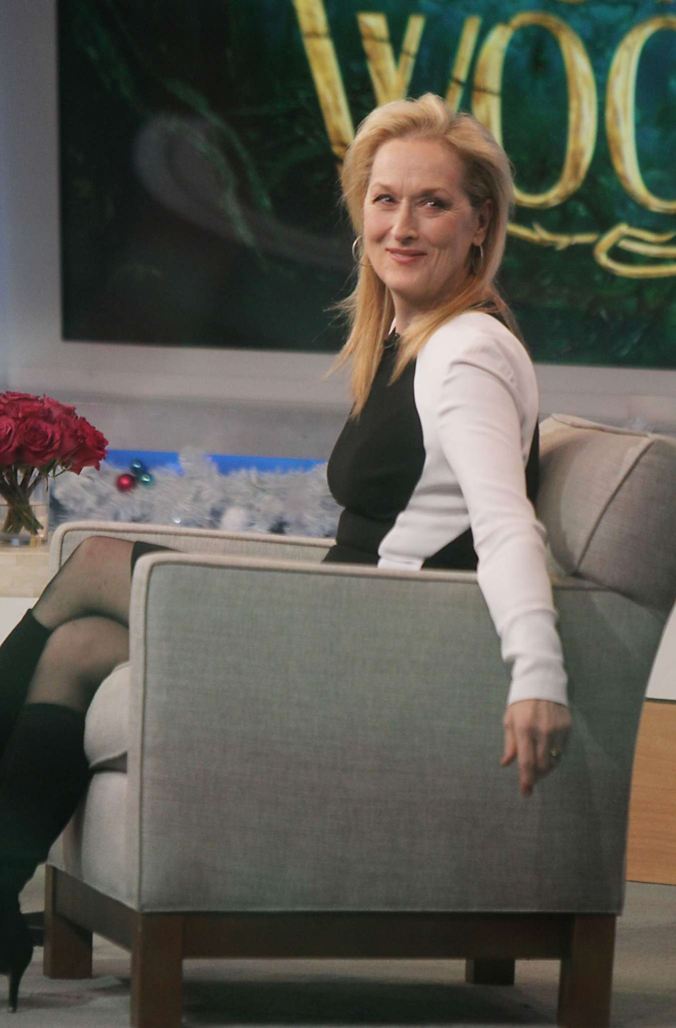 Good Morning America Nyc : Meryl streep at good morning america in new york city