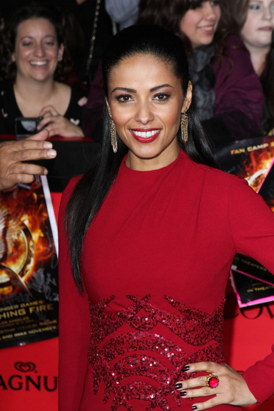 Meta Golding - The Hunger Games: Catching Fire Hollywood Premiere -04