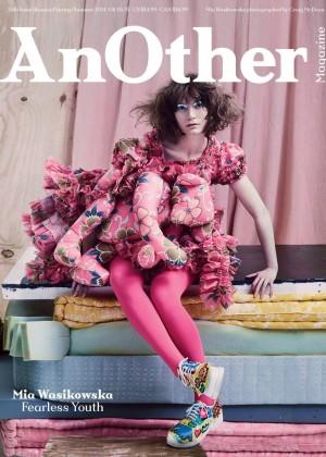 Mia Wasikowska: AnOther Magazine 2014 -03