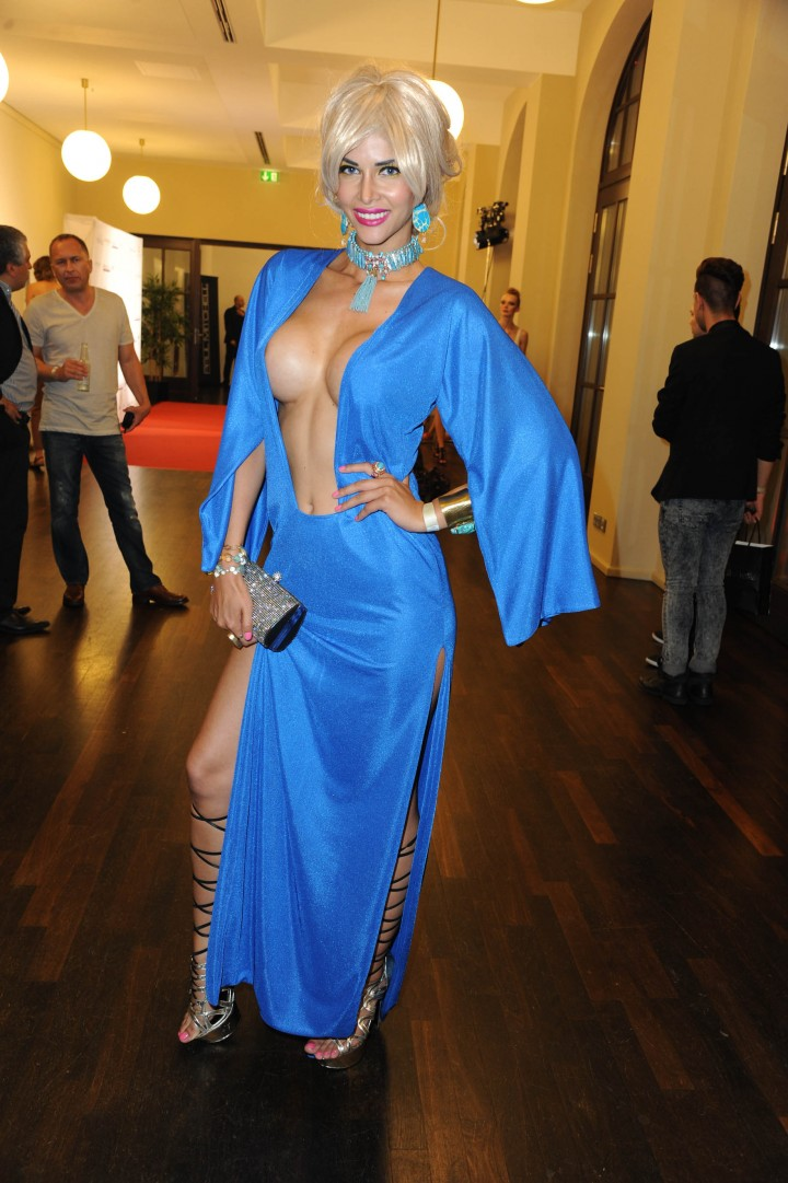 Micaela Schaefer 2014 Fashion Week 01 Gotceleb