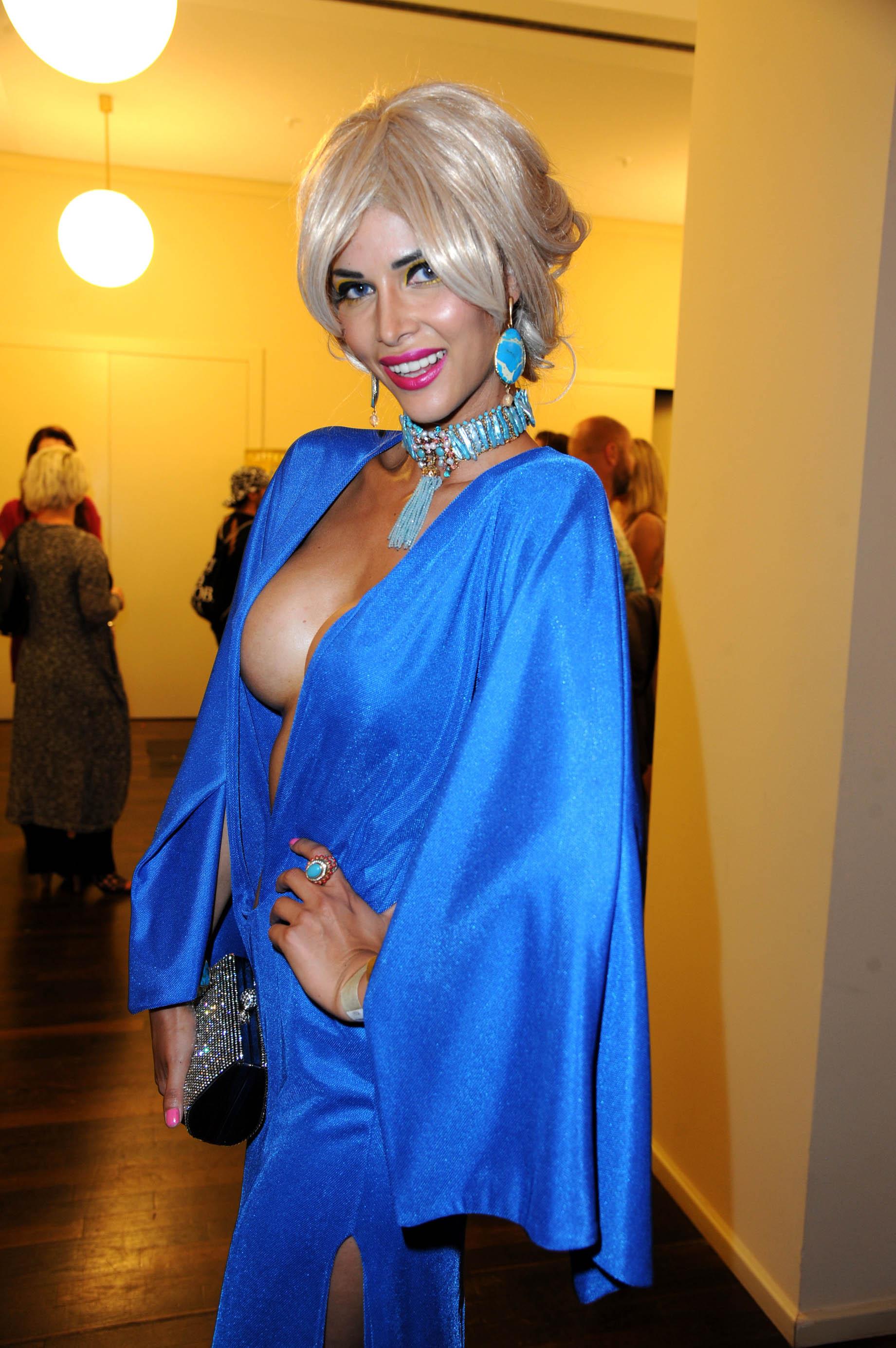 Micaela Schaefer 2014 Fashion Week 02 Gotceleb