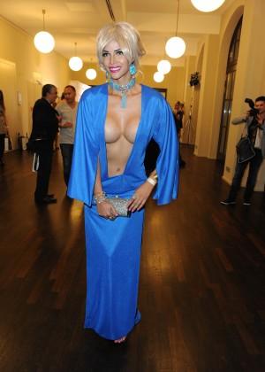Micaela Schaefer: 2014 Fashion Week -15
