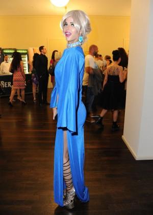 Micaela Schaefer: 2014 Fashion Week -16
