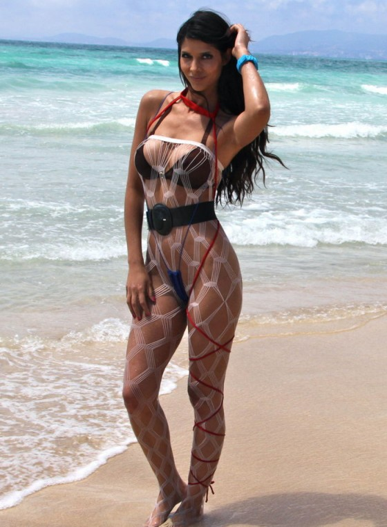 Micaela Schaefer - Bikini Candids at Majorca - Spain