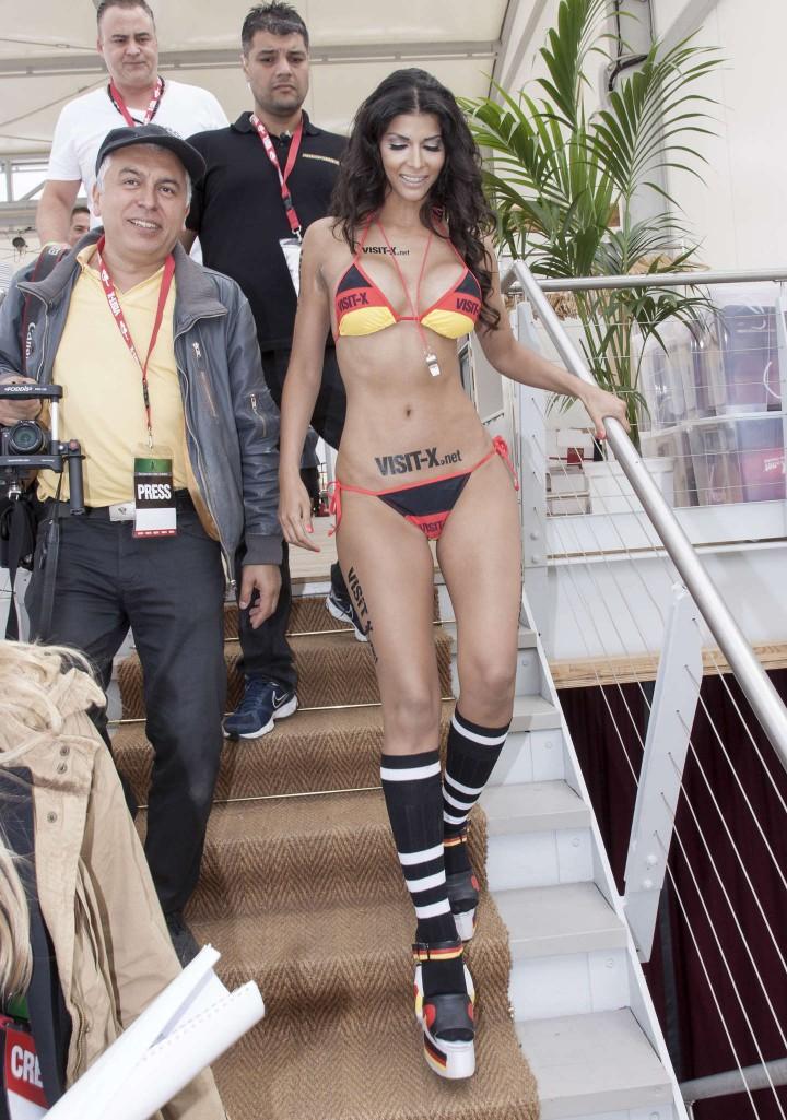 Micaela Schaefer: SexySoccer 2014 -15