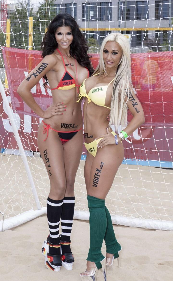 Micaela Schaefer: SexySoccer 2014 -16