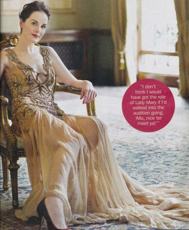 Michelle Dockery - S Magaine (October 2014)